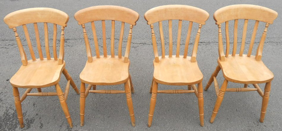 Pine Kitchen Chairs Set Of Four Lathback Pine Kitchen Chairs Sold - Pine Kitchen Chairs - 28 Images - Antiques Atlas Set Of 6 Solid